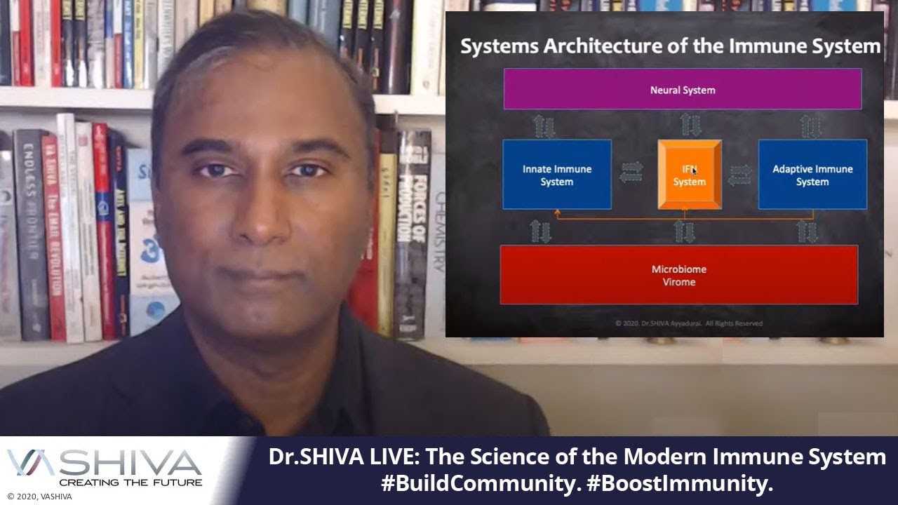 Dr.SHIVA LIVE: The Science of the Modern Immune System