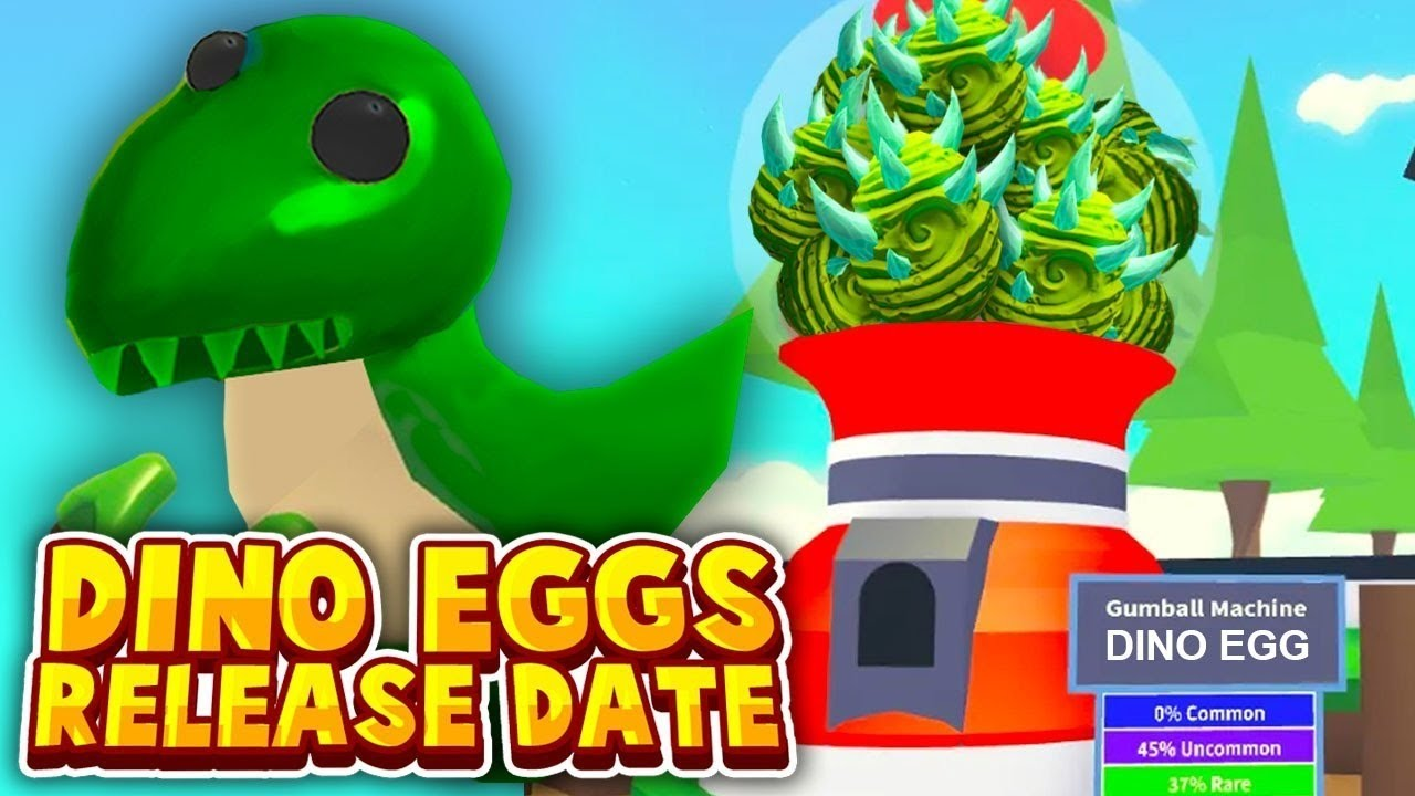 Adopt Me Fossil Egg Update Official Countdown Live