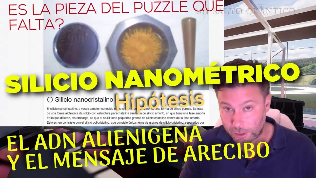 SiO2: Silicio Nanométrico, ADN extraterrestre, y el Mensaje de Arecibo y Chibolton en Crop Circles.