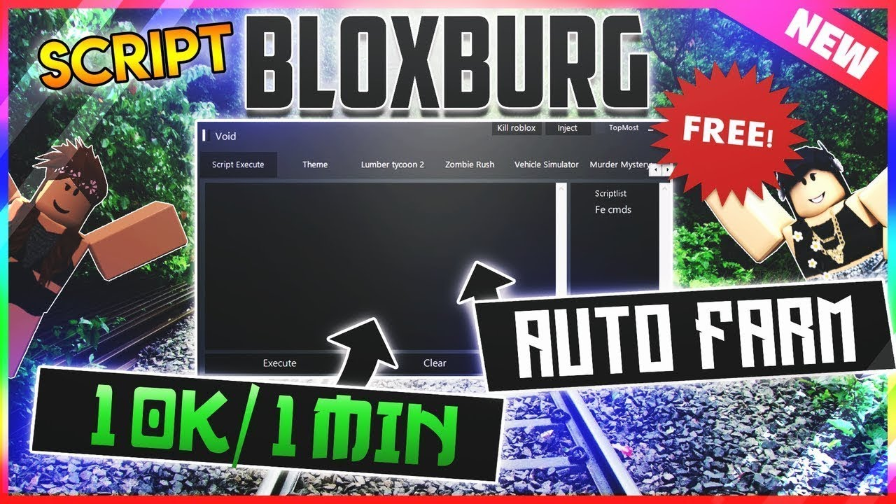Roblox Lumber Tycoon 2 Dupe Script Roblox Robux Hack Really Works New Roblox Script Hack Bloxburg Afk Farm Max Stats Auto Job And More