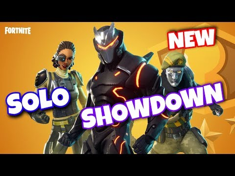 Fortnite Solo Showdown Thumbnail Solo Showdown Ltm Gameplay Fortnite